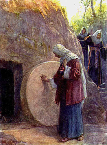 empty-tomb WOMEN AT TOMB