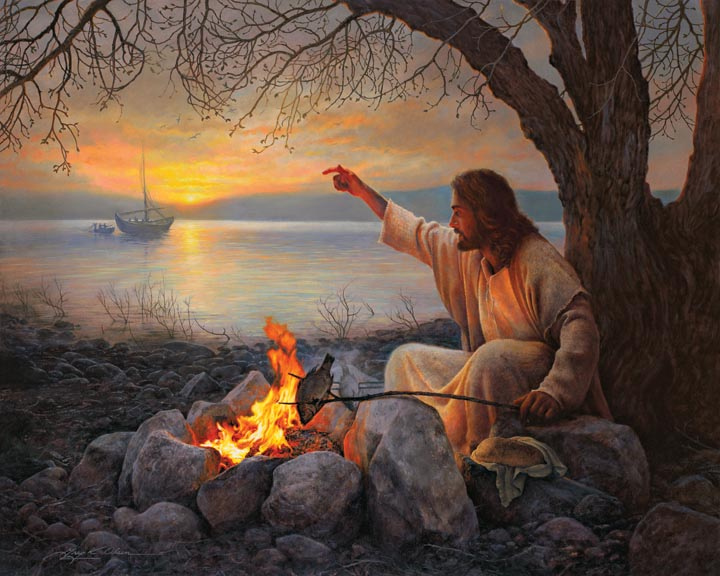 JESUS COOKING