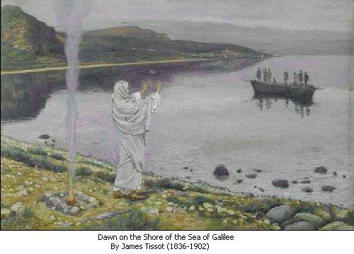 morning GALILEE JESUS 3