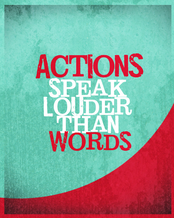 Dear Children Let Us Not Love With Words Or Tongue But With Actions And In Truth