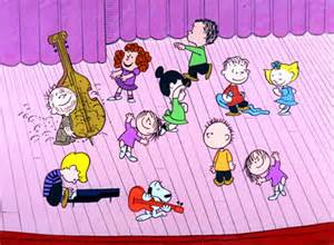 charlie brown singing