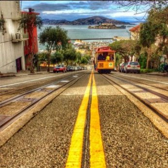 A SANFRANCISCO TROLLEY
