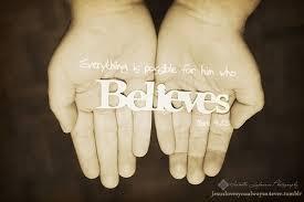 a believe