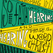 A FAITH BY HEARING