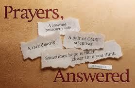 a answered prayer