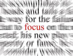 a focus