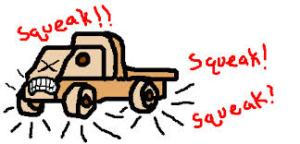 a squeaker