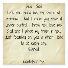 a trusting