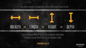Ephesians 3:18–19 (ESV) - Ephesians 3:18–19 ESV - may have strength to…    Biblia